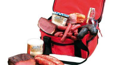 Kühltasche mit bayerischen Spezialitäten