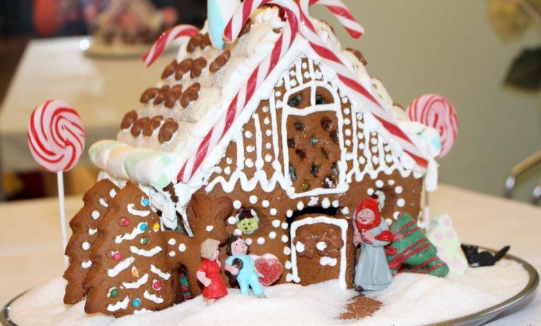 Bild von Pfefferkuchenhaus mit Lebkuchenrezept