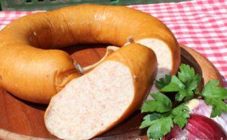 Hamburger Halbgekochte Wurst