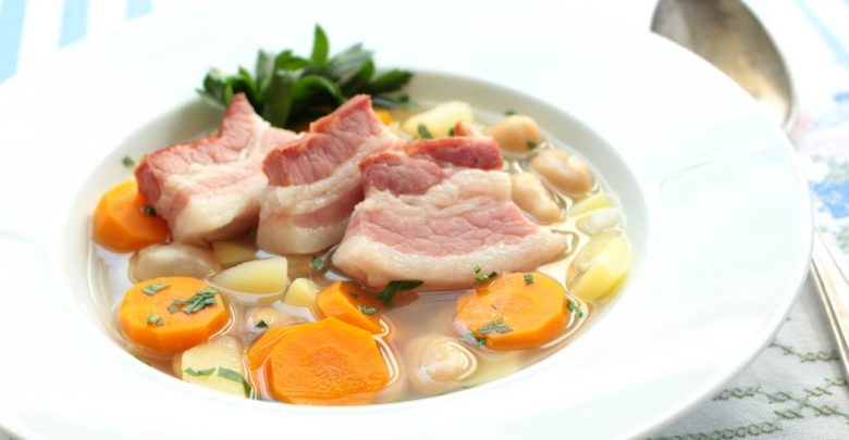 Pluckte Finken Suppe