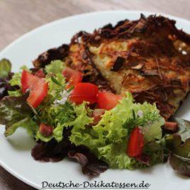 Schales aus dem Ofen mit Salat