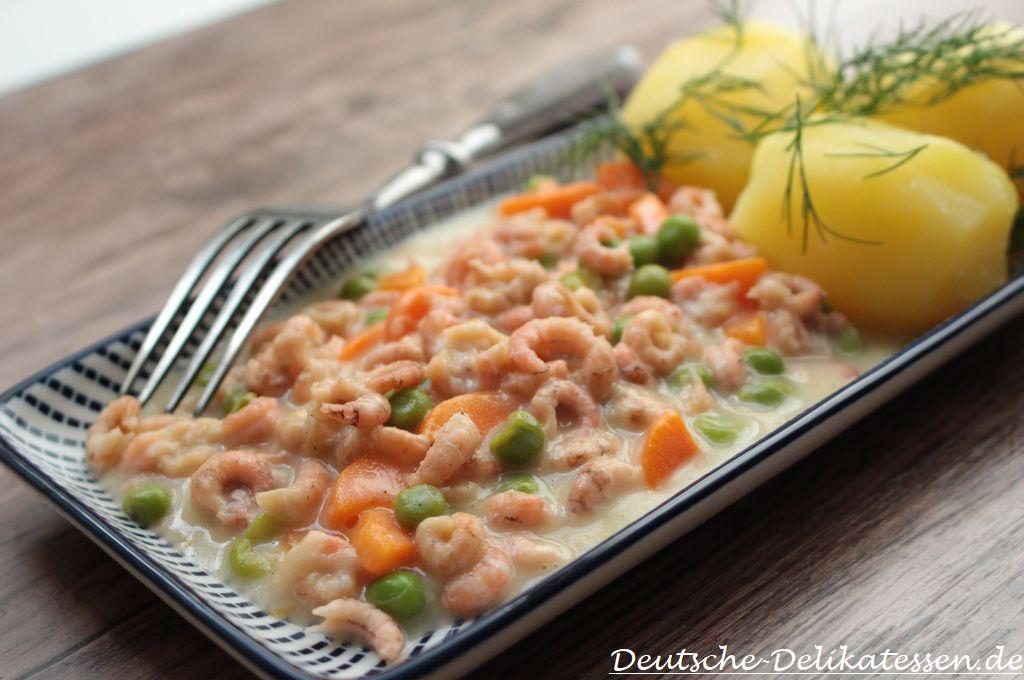 Nordsekrabben als Ragout Rezept mit Kartoffeln