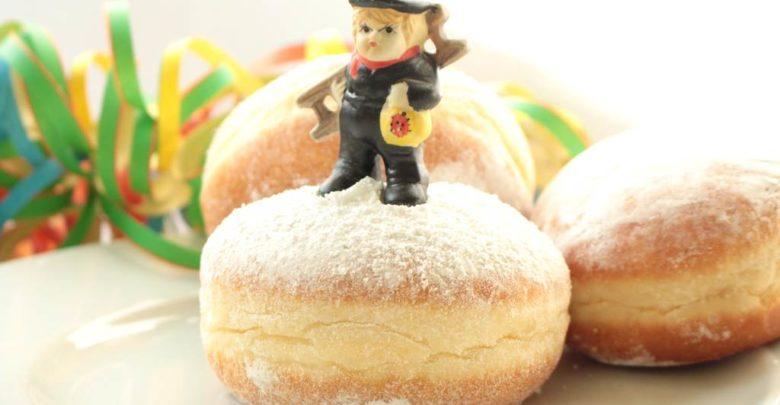 Berliner Pfannkuchen Silvester