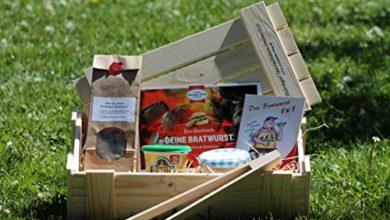 Photo of Geschenk DIY Thüringer Bratwurst Kiste