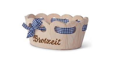 Brotkorb aus Holz gearbeitet