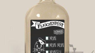 Photo of Flaschenpost 'Moin' zum selber befüllen