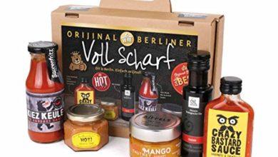 Bild von Berliner Koffer voll scharfer Chili Spezialitäten