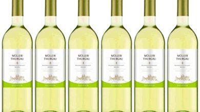 Bild von 6 Flaschen Wein Müller Thurgau Sachsen Qba