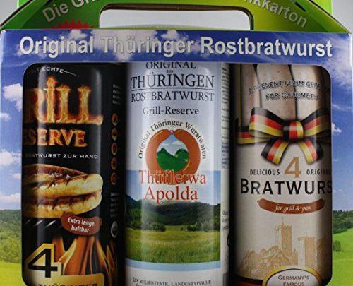 Rostbratwurst Geschenkbox