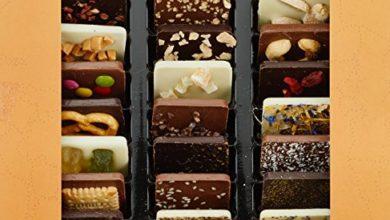 Bild von Schokoladige Weltreise mit 24 Mini-Tafeln