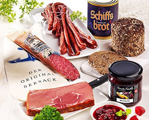 Wurst, Schinken und Brot in der Dose aus Norddeutschland