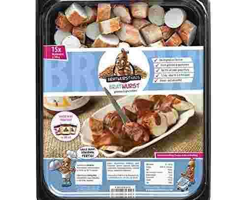 Currywurst Partybox 15 fertige Bratwürste