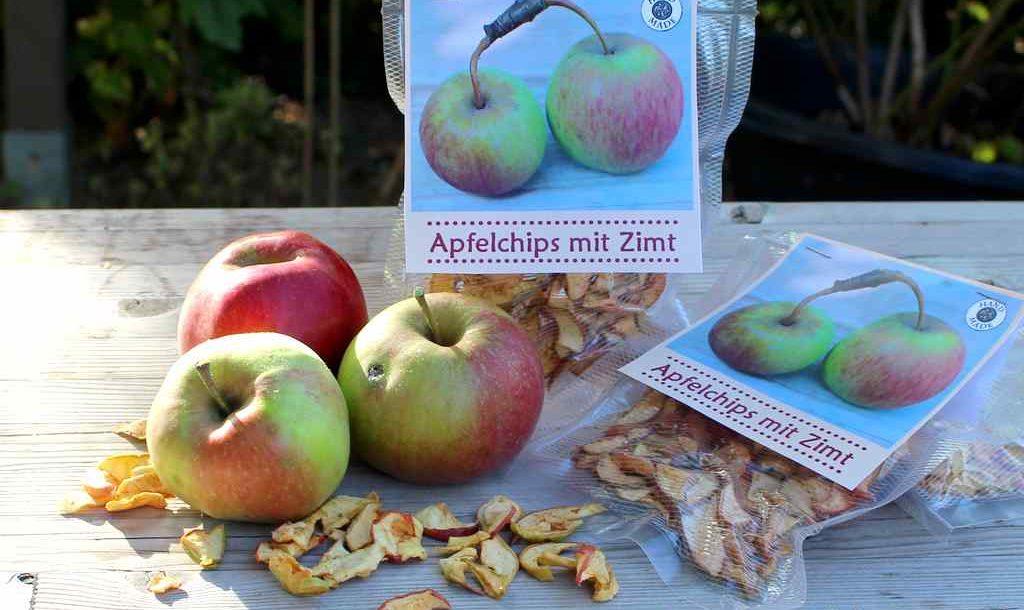 DIY Geschenk Apfelchips
