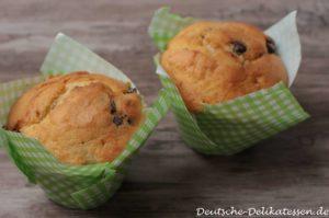Muffins mit Schokoflocken