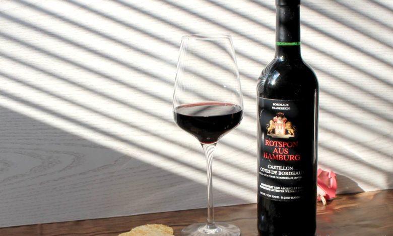 Bild von Rotspon – ein hanseatischer Rotwein