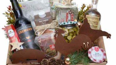 Photo of Geschenkkorb Land und Weihnacht