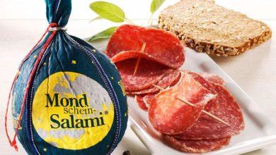 Salami mit Etikett Mondschein