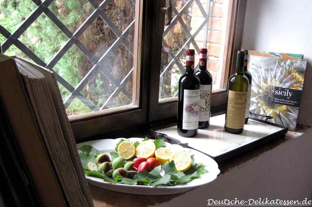 Wein und Feinkost