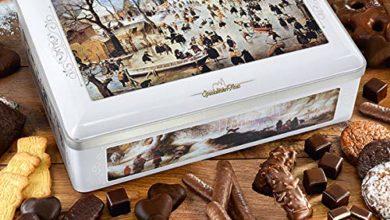 Winter Geschenkdose mit Nürnberger Lebkuchen