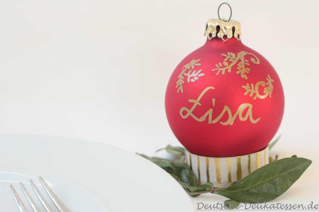 Einfache Weihnachtsdeko Upcycling