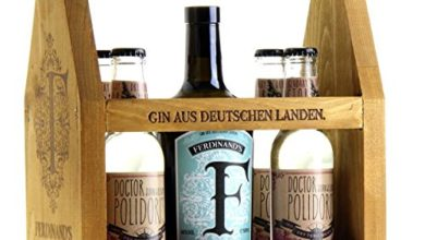 Photo of Präsent Saar Dry Gin Werkzeugkiste