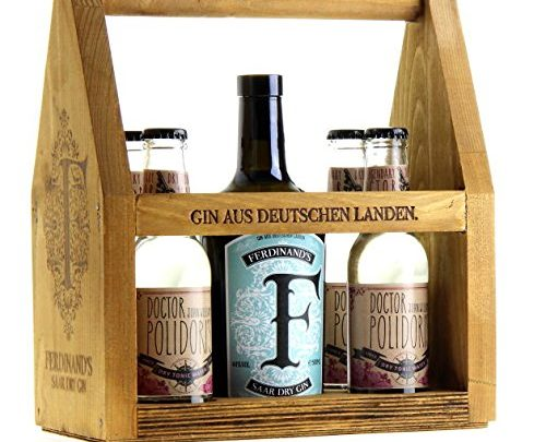 Geschenkkiste mit Gin und Tonic Water