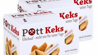 Packungen mit Glückskekse Pott Keks