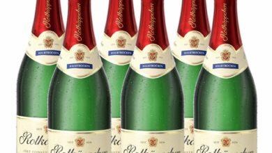 6 Flaschen Rotkäppchen Sekt halbtrocken