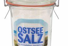 Ostseesalz in einem Weckglas