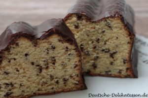 Rührkuchen mit Schokoladenstreusseln