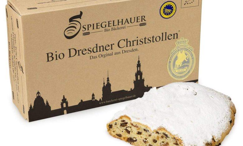 Original Dresdner Christstollen Bio