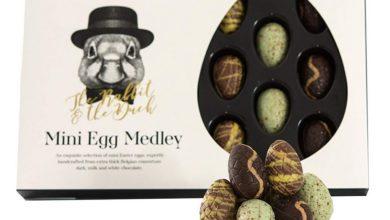 Mni Schokoladeneier zu Ostern
