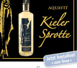 Photo of Kieler Sprotte Aquavit 41% vol