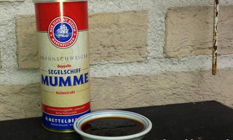 Flüssigwürze Braunschweiger Mumme in einer Dose.