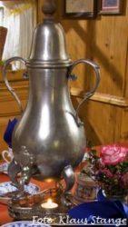 Dröppelminna Kanne zur Bergischen Kaffeetafel