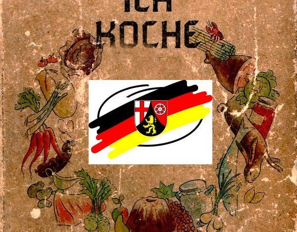 Bild von Kochbücher aus Rheinland-Pfalz