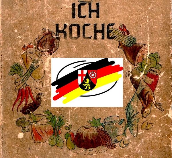 Kochbücher Pfälzisch und Rheinländisch