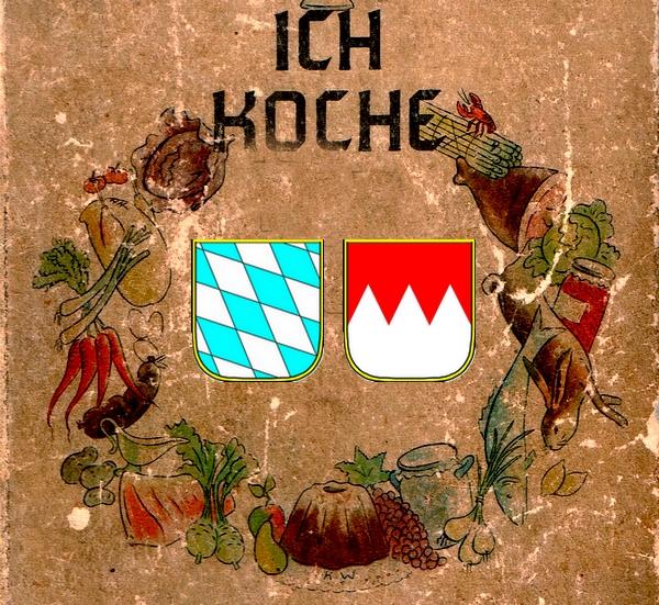 Kochbuch mit Frankenrechen und Bayernraute