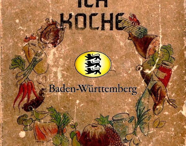 Bild von Kochbücher aus Baden-Württemberg