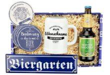 """Bild von Geschenkbox """"Bier is gsund"""""""