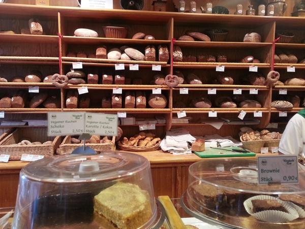 In der Bäckerei Weichardt
