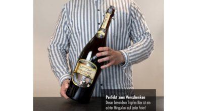 Feierabendbier als Geschenk aus Sachsen