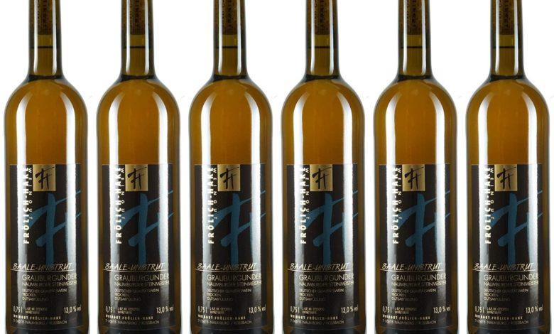 6 Flaschen Naumburger Grauburgunder Saal-Unstrut