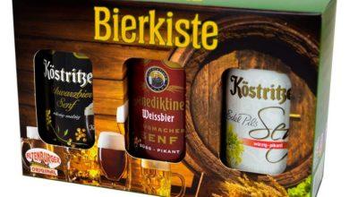 Geschenkbox Biersenf mit 3 verschiedenen Senfsorten