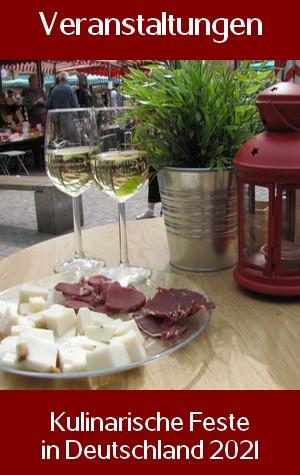 Veranstaltungen Essen und Trinken
